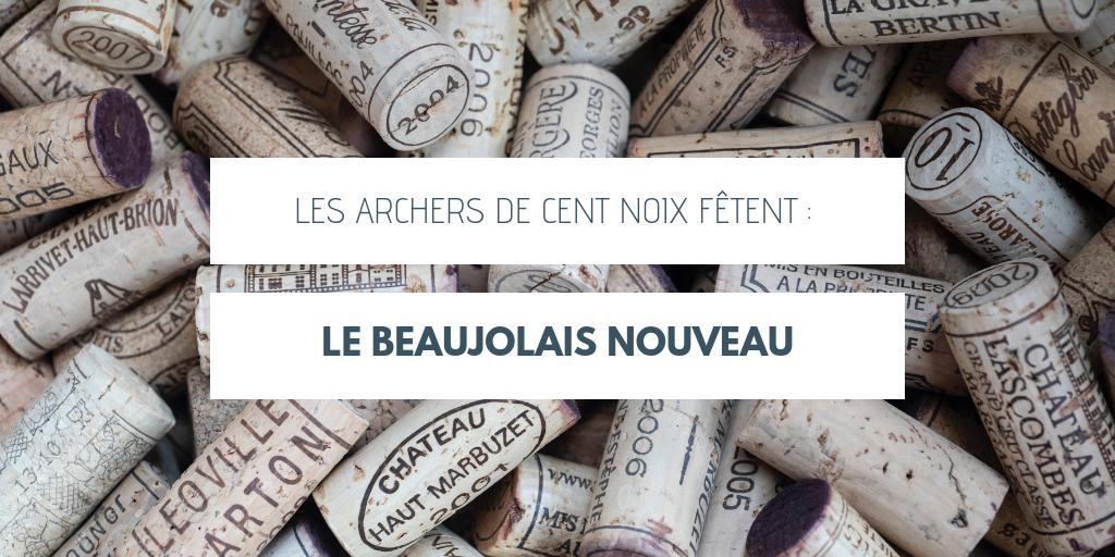 Les Archers de Cent Noix fêtent le beaujolais nouveau